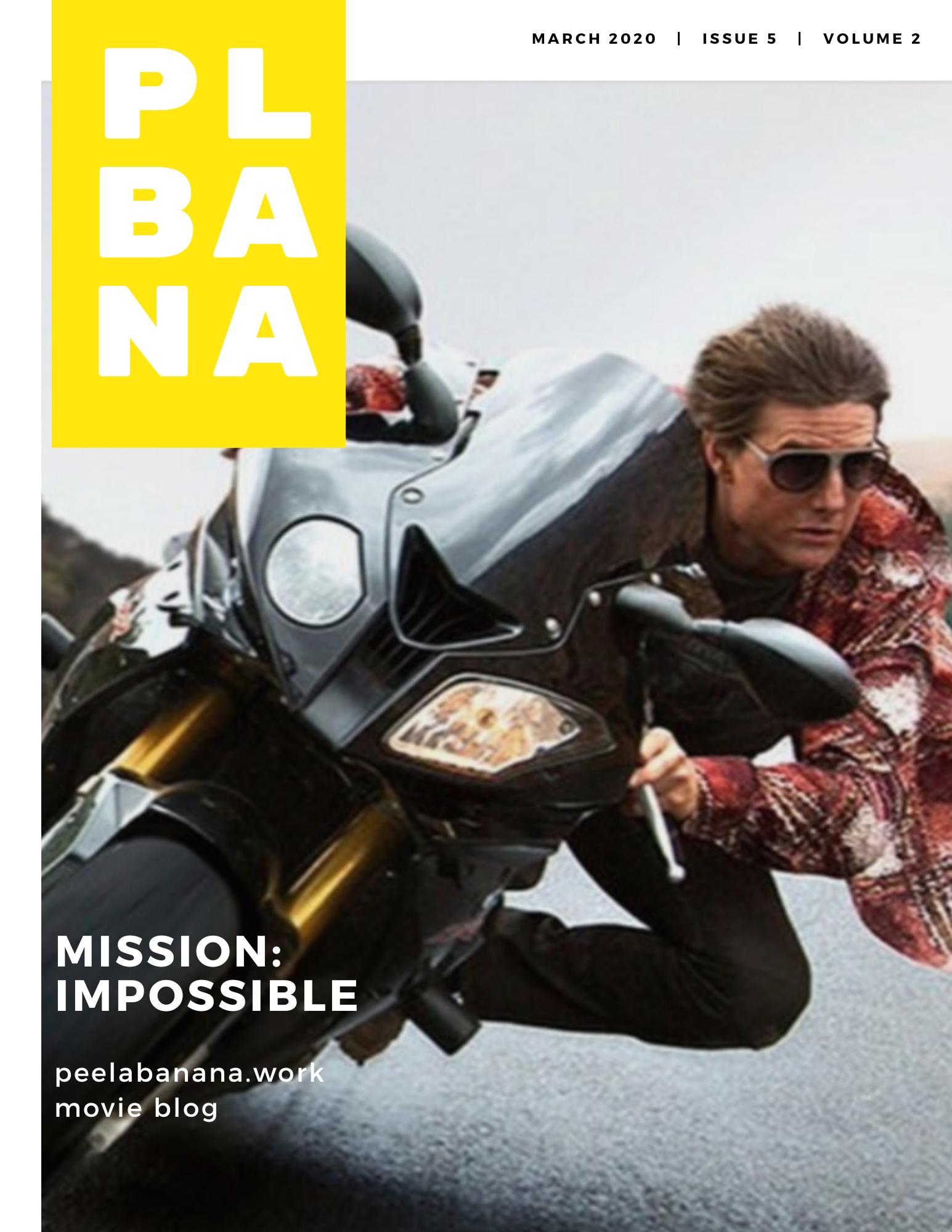 【トム・クルーズ】不可能なミッションの映画一言とちょこっと感想